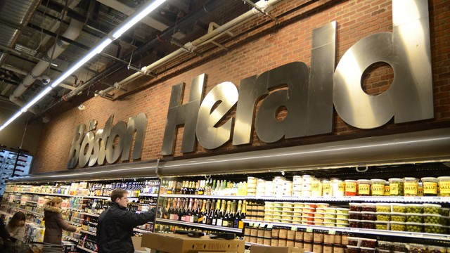 New Whole Foods Embraces Building's History With 'Boston Herald'