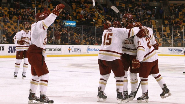 BC Comes Away Consolation Kings In Beanpot Over Harvard