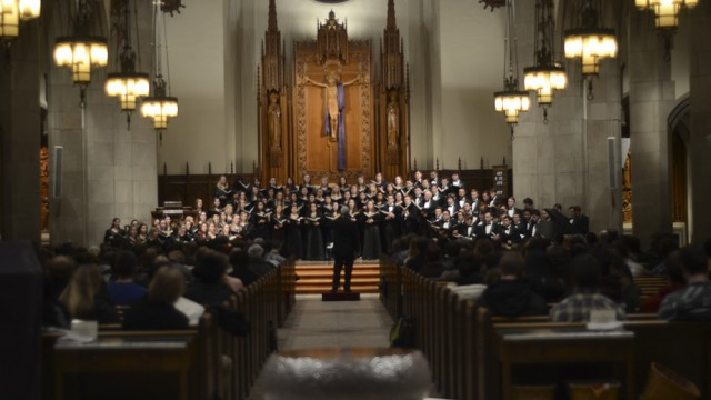 Straight Outta Ignatius: A Winter Spectacle From University Chorale