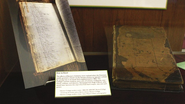 Burns Library Exhibit Displays Artifacts Of Irish Culture, Music