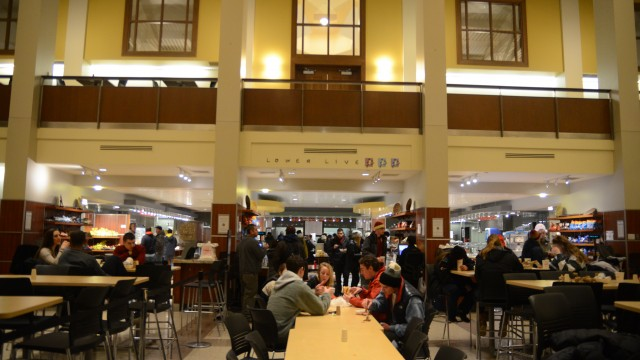 Reassessing Excess In Dining Halls