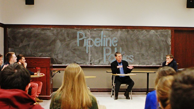 On Campus, A Discussion On The Keystone XL Pipeline