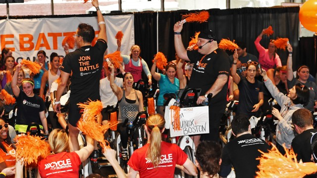 'Cycle For Survival' Puts New Spin On Cancer Research