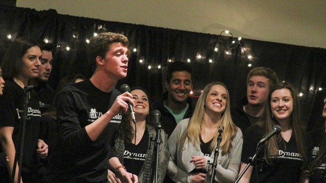 A Cappella And Comedy Shake It Off For The Campus School