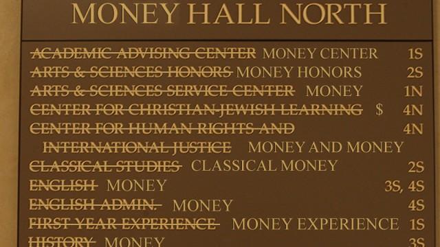 School For Sale: Boston College Leans Towards The Money