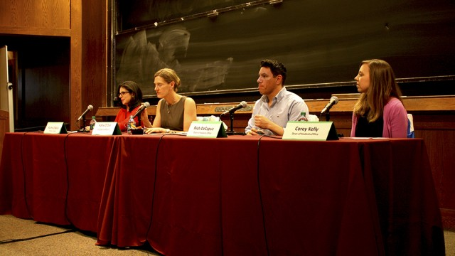 Administrators Stage Forum On Sexual Assault Policies