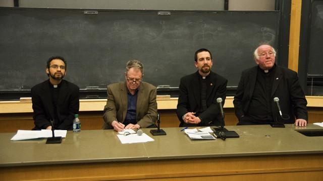 Dialogue On Assault Adds Jesuit Voice
