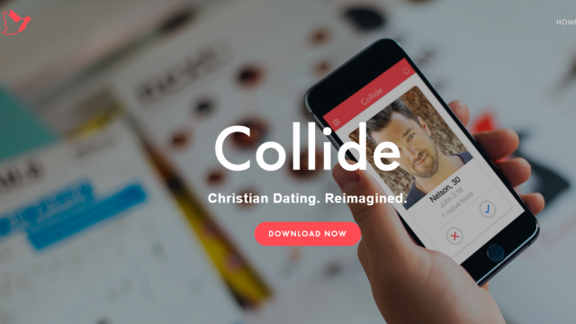 Mobile App Collide Streamlines Christian Dating