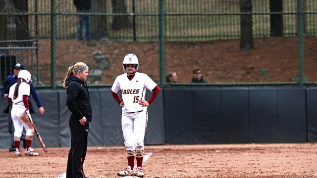 Eagles Salvage One Game In Series At Louisville