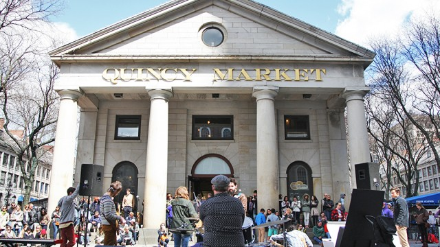 'Break The Bubble' Pushes BC Music Scene To Faneuil Hall