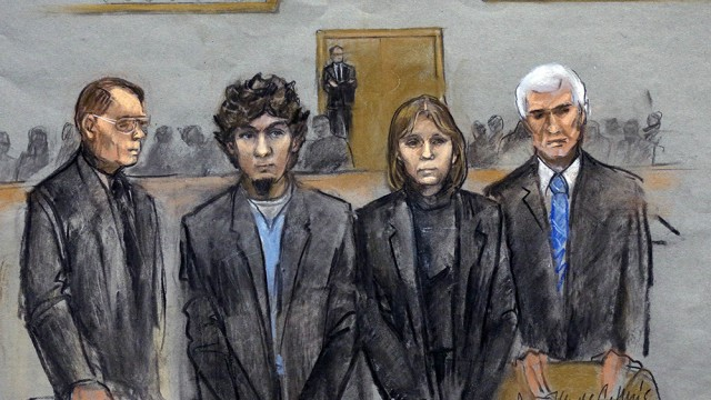 Dzhokhar Tsarnaev Convicted Of All 30 Charges Related To Marathon Bombing