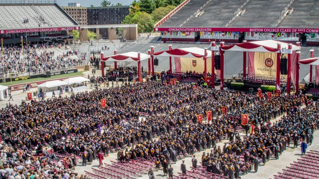 For Class Of 2015, A Final Gathering In Alumni Stadium