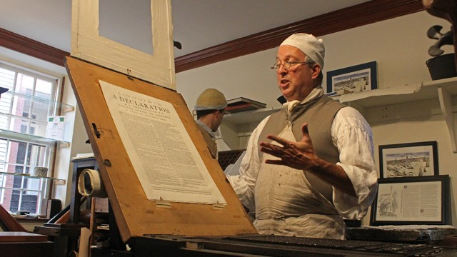 Colonial Printing Press And Chocolate Shop Bring History Alive In North End