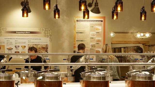 Beers And Bacon Jam: A Visit To Newton's Only Commercial Brewery