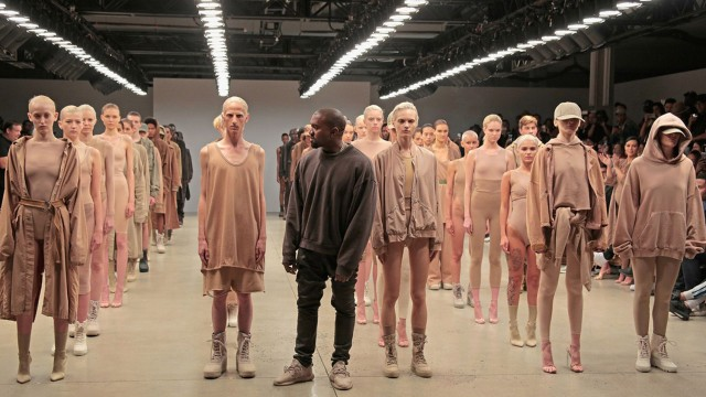 Kanye West Angers Fashion Industry's Elite With 'Yeezy II' Show