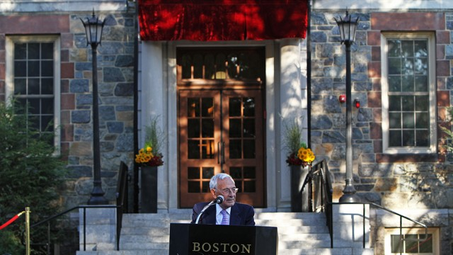 In Recognition Of Simboli Family, A New Name On Brighton Campus