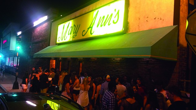 City Cracks Down On Mary Ann's For Underage Drinking