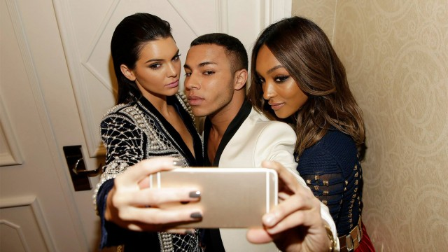 Rousteing's Balmain Blends High French Fashion With Pop Culture