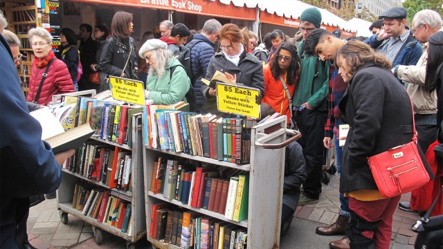 Boston Book Festival Takes Over Copley Square For Weekend