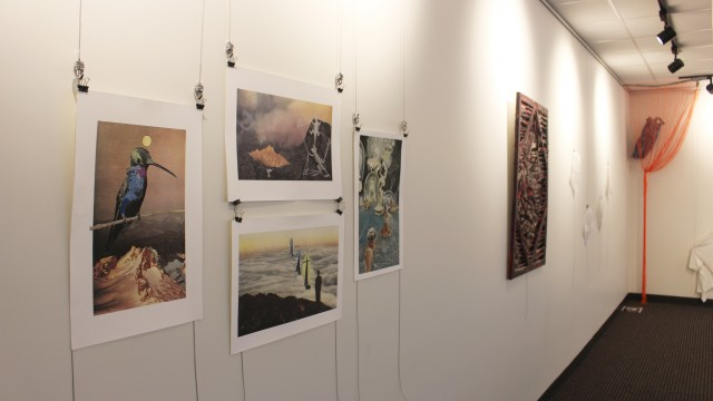 On The Second Floor Of Carney, A Showcase For Student And Faculty Art