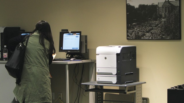 Lower Campus Printers Stalled In Logistical Limbo