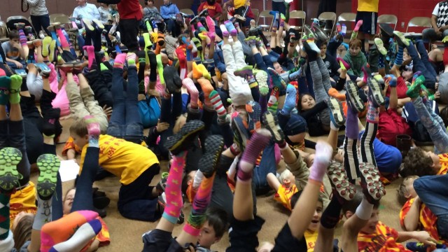 Put A Sock In It: BC Alum Puts Two Feet Forward In Anti-Bullying Campaign