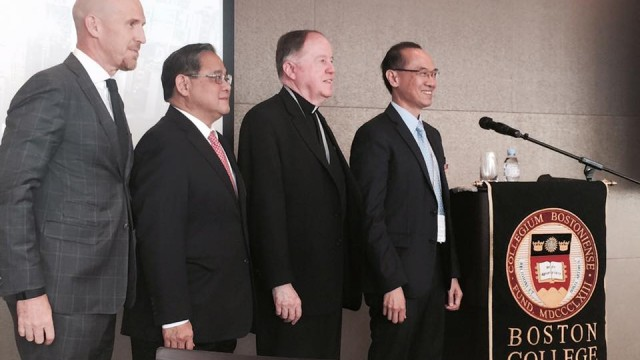A Gathering Of The University Community In Asia