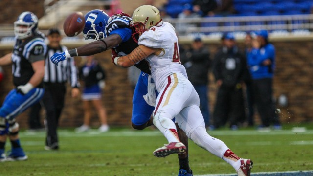 Defensive Battle On The Horizon For BC-Wake Forest