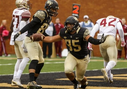 Wake Forest Defense Aims To Match BC