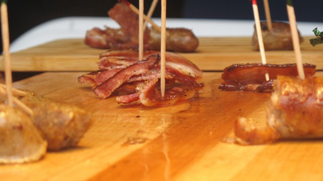 Bacon Sizzles At 'Let's Talk About Food' Festival In Copley Square