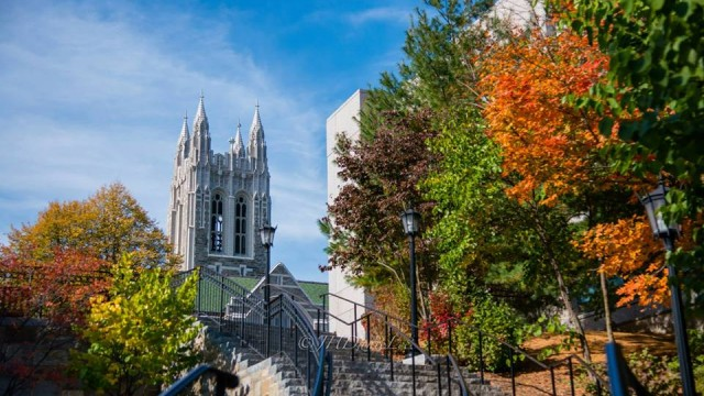 Finding The Arts at Boston College