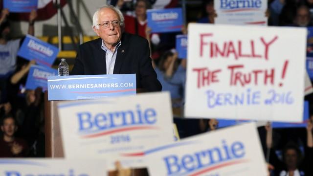 Bernie Sanders Draws Record-Setting Crowd In Boston