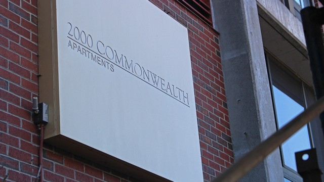 Transition Underway For 2000 Comm. Ave, Set To Open As BC Dorm
