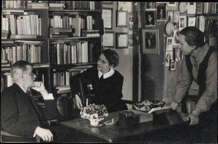 Irish Writer James Joyce And His Work Honored In Burns Library