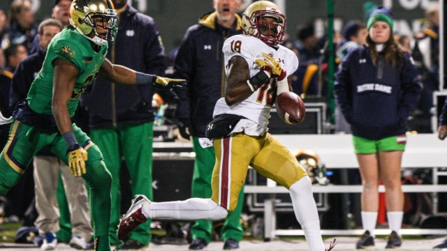 Notre Shame: Despite Turnovers, Eagles Can't Muster Enough Offense To Beat Irish
