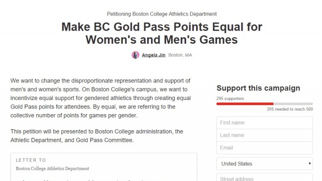 Students Petition Online For Equal Distribution Of Gold Pass Points By Gender