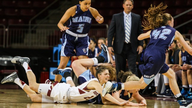 Three Up, Three Down: Inside BC's Victory Over Maine