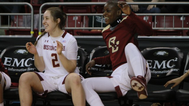 BC Tops Providence On The Road For First Win