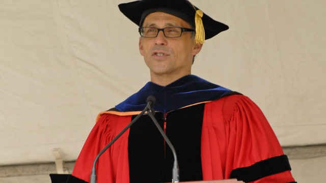 Education Should Facilitate Social Change, Wesleyan President Said At Lowell Talk