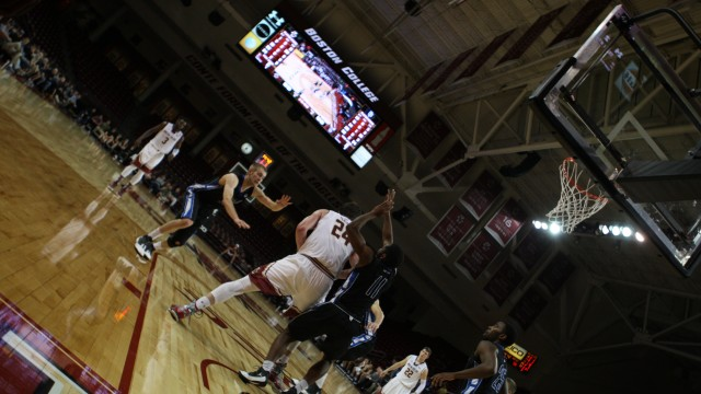We Went To BC Basketball's Scrimmage And Things Happened