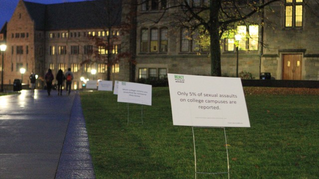 A Push To Cover Campus With Federal Statistics On Sexual Assault