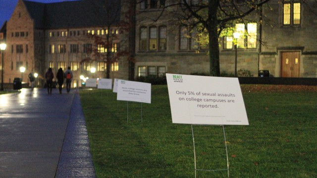 Campus Posters Expanding Conversations On Sexual Assault