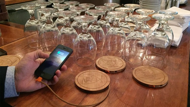 Cambridge Startup 'ChefCharger' Develops Charging Coaster For Your Phone