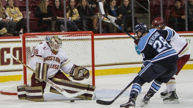 Demko Stifles Maine For Sixth Shutout In Seven Games