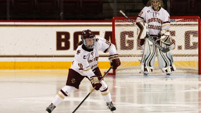 BC Shuts Out Huskies For Second Time Over Weekend