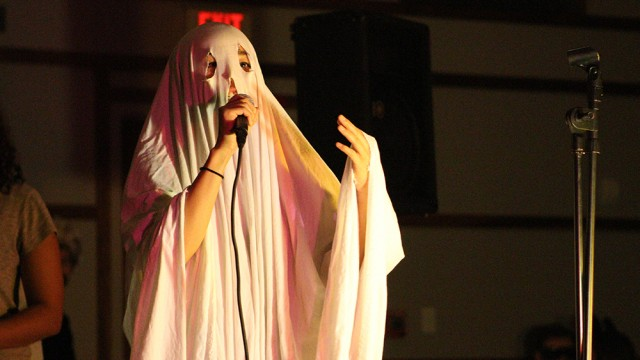 The Bostonians Host Costume / A Cappella Party In Cushing