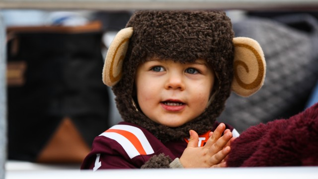 BC Football Isn't Good, So Here Are Pictures Of A Very Cute Baby
