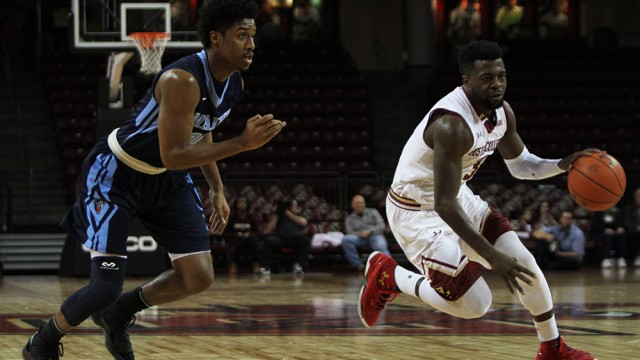 Notebook: Eagles Push The Pace Against Maine