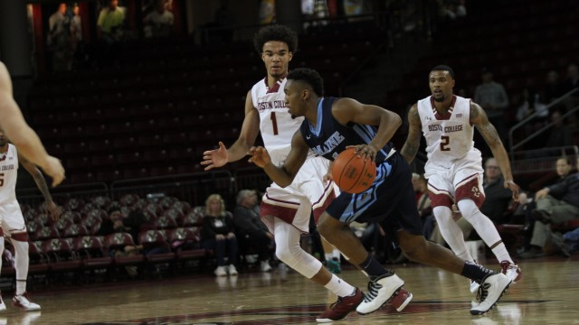 Eagles Cruise To Victory Over Black Bears Despite Early Foul Trouble