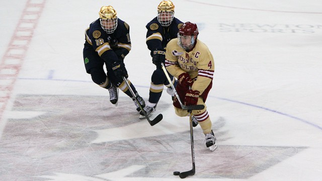 Eagles Collapse In Third Period Against Notre Dame